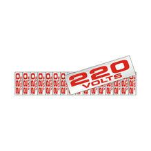 Placa de sinalização em Alumínio Sem braille 5x25 220V