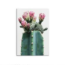 Placa Decorativa Cacto Vaso 29x20cm