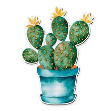 Placa Decorativa Cactus 24x18m
