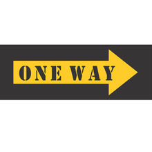 Placa Decorativa One Way 10x30