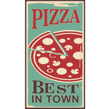 Placa Decorativa Pizza Bes 25x50cm
