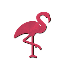 Placa Flamingo 20x24xcm