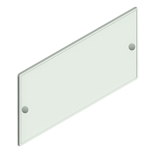 Placa para fixar n meros casa 18 5x37cm parafusar acr lico cristal leroy merlin - Numeros para casas leroy merlin ...