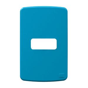 Placa sem Suporte 4x2 1 Módulo Composé Azul WEG