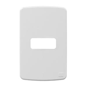 Placa sem Suporte 4x2 1 Módulo Composé Branco NOBAC WEG