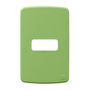 Placa sem Suporte 4x2 1 Módulo Composé Verde WEG