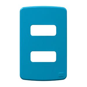 Placa sem Suporte 4x2 2 Módulos Composé Azul WEG