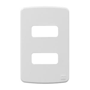 Placa sem Suporte 4x2 2 Módulos Composé Branco NOBAC WEG