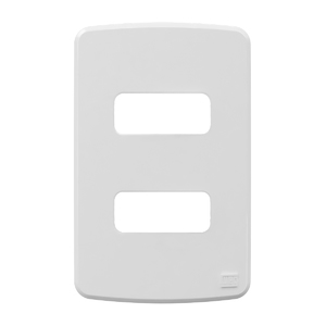 Placa sem Suporte 4x2 2 Módulos Composé Branco WEG