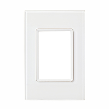 Placa sem suporte 4X2 Acrílico Transparente Delta mondo Acrylic Siemens