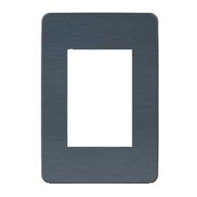 Placa sem Suporte 4x2 Azul Orion Schneider