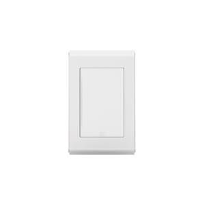 Placa sem Suporte 4x2 Cega REFINATTO Style Branco e Branco WEG