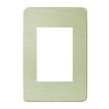 Placa sem Suporte 4x2 Verde Orion Schneider