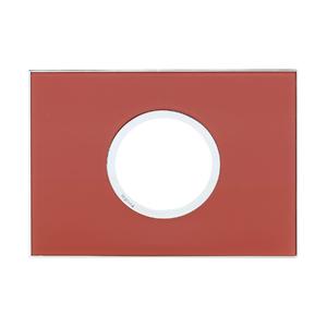 Placa sem suporte 4X2 Vermelho Arteor Pial Legrand
