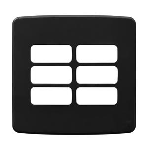 """Placa sem Suporte 4x4"""" 6 Módulos Composé MIX WEG"""