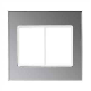 Placa sem suporte 4X4 Acrílico Espelhado Delta mondo Acrylic Siemens