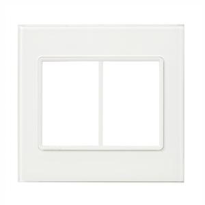 Placa sem suporte 4X4 Acrílico Transparente Delta mondo Acrylic Siemens