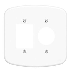 Placa sem Suporte 4x4 Branco Blanc Fame