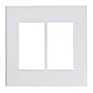 Placa sem Suporte 4x4 Branco Lunare Schneider