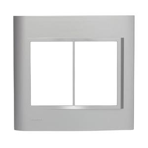 Placa sem Suporte 4x4 Cinza Vivace Siemens
