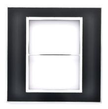 Placa sem Suporte 4x4 Mirror Black Arteor Pial Legrand