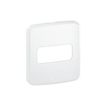 Placa sem Suporte Embutir Moveis 1 Módulo Composé Branco WEG