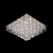 Plafon 12 Lâmpadas Transparente Cristal CH3013-3 Chandelie