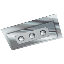 Plafon Pantoja&Carmona 137 Retangular Vidro Transparente