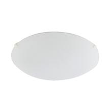 Plafon 2 Lâmpadas Branco Vidro Clean LLUM Bronzearte