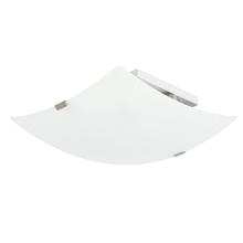 Plafon 2 Lâmpadas Branco Vidro Napi Inspire