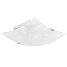 Plafon 2 Lâmpadas Branco Vidro Paysle Inspire