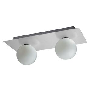 Plafon Pantoja&Carmona 3002 Retangular Vidro Branco