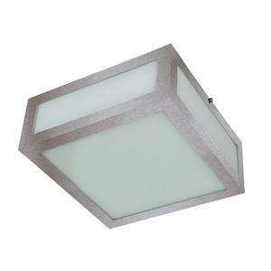 Plafon Pantoja&Carmona 3020 Quadrado Vidro Prata