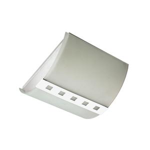 Plafon Pantoja&Carmona 3055 Retangular Vidro Branco