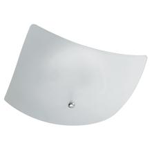 Plafon Pantoja&Carmona 528 Quadrado Vidro Branco