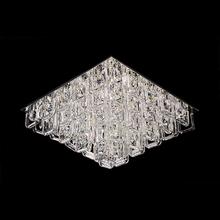 Plafon 9 Lâmpadas Transparente Cristal CH3013-2 Chandelie