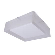 Plafon Inspire Adriana Quadrado Plástico Branco Bivolt