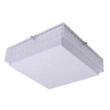 Plafon Inspire Alessandra Quadrado Plástico Branco Bivolt