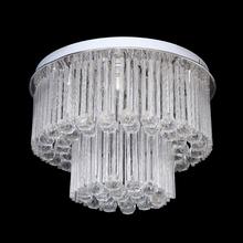 Plafon Crystal G Redondo Cristal Transparente Bivolt