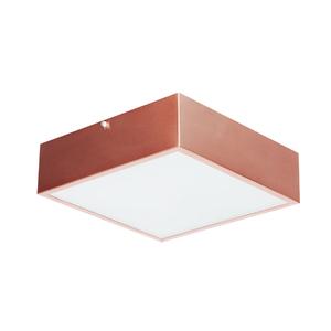 Plafon Damafe Moema Quadrado para 3 Lâmpadas Branco Bivolt