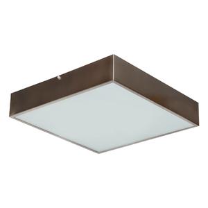 Plafon Damafe Moema Quadrado para 3 Lâmpadas Bronze Bivolt