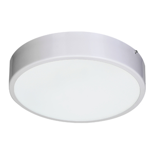 Plafon Damafe Moema Redondo para 1 Lâmpada Branco Bivolt