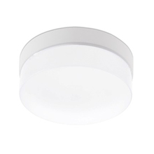 Plafon Dital Flat E27 31cm Plástico Branco