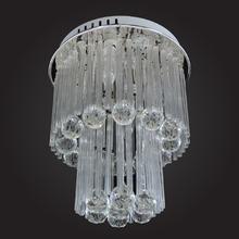 Plafon E14 4 Lâmpadas Cristal Diamante