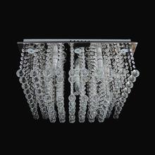 Plafon E14 7 Lâmpadas Cristal Diamante