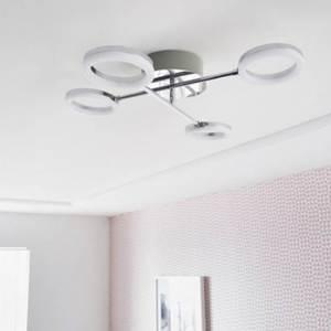 Plafon Iring G Redondo Metal Branco 4x5W Bivolt Inspire