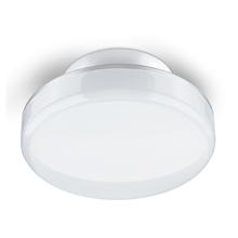 Plafon LED Branco Vidro Multi Fit Elgin