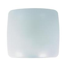 Plafon Led Smart LLUM Bronzearte quadrado 25cm 6400k Branco 127W