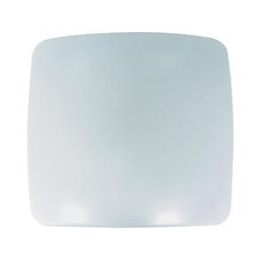 Plafon Led Smart LLUM Bronzearte quadrado 25cm 6400k Branco 220W