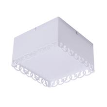 Plafon Inspire Luna Quadrado Plástico Branco Bivolt